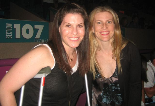 abby and kelcey at britney spears