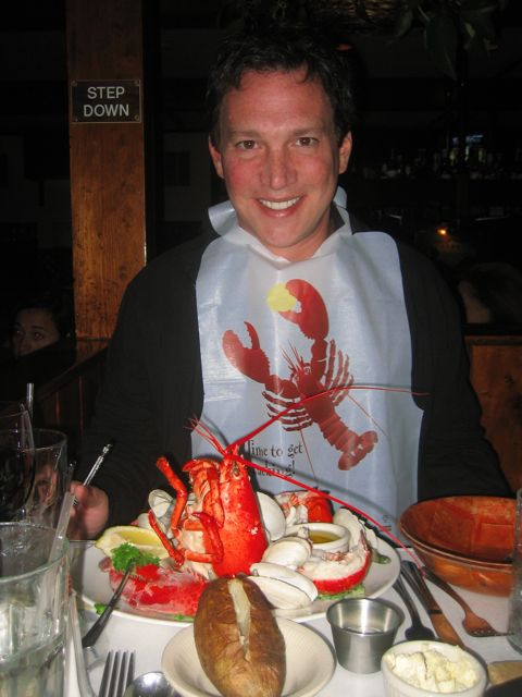 rick eating lobster 2
