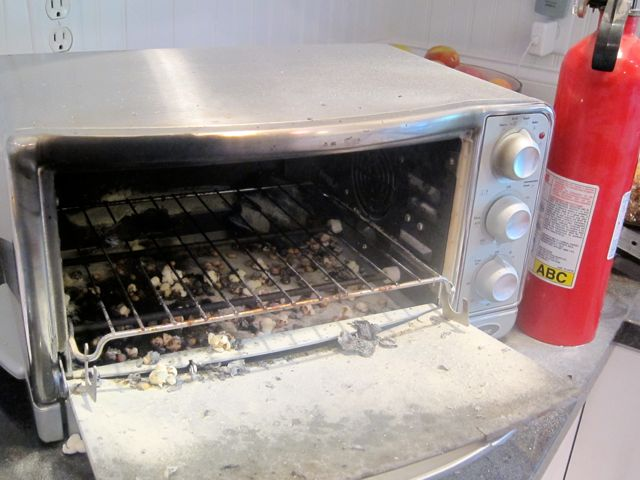 Toaster On Fire ~ Children should not use toaster ovens the mama bird diaries