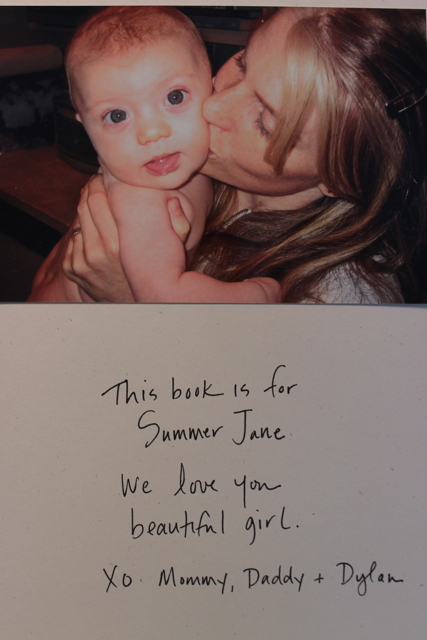 Baby book photo (Summer)