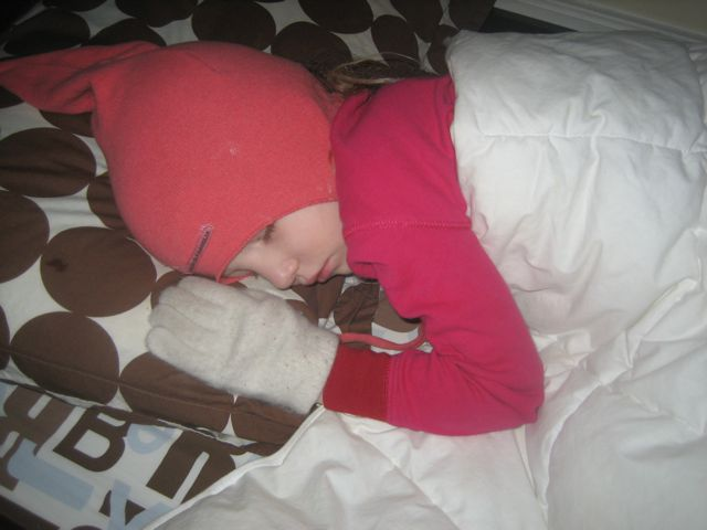 Dylan sleeping 1