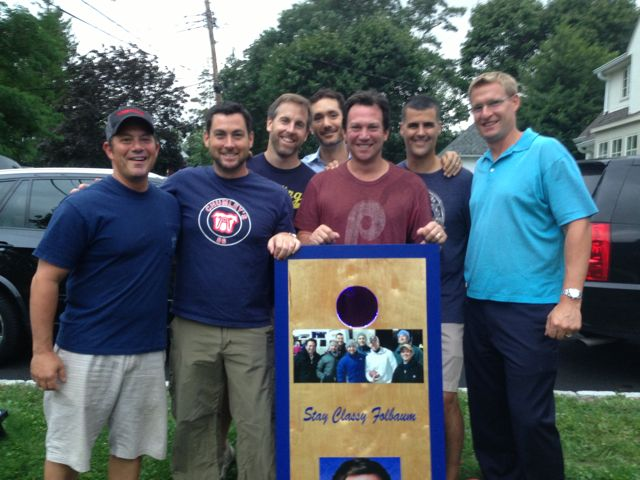 corn hole - the guys