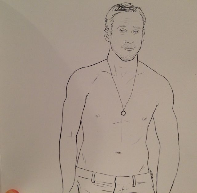 ryan gosling coloring book 2
