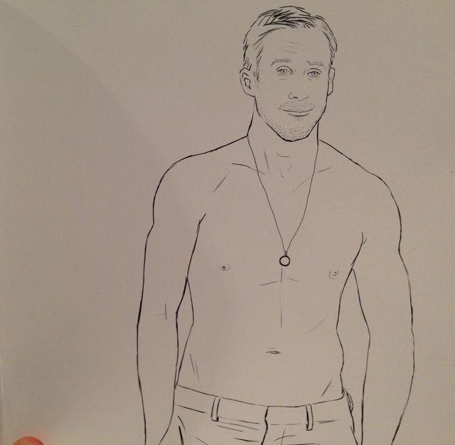 ryan gosling coloring book 2