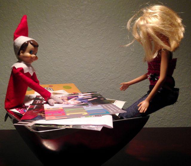 Elf & Barbie