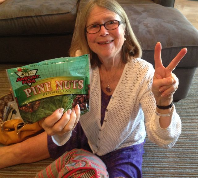 mom and pinenuts