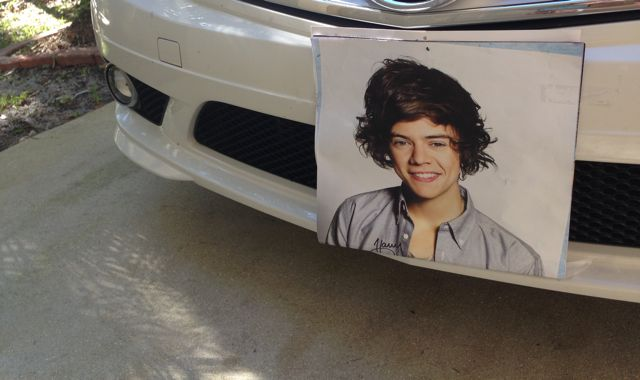 car - Harry styles One direction