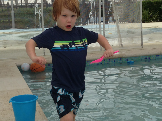 chase at pool