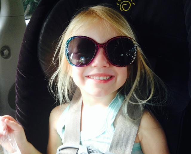 harlowe in sunglasses