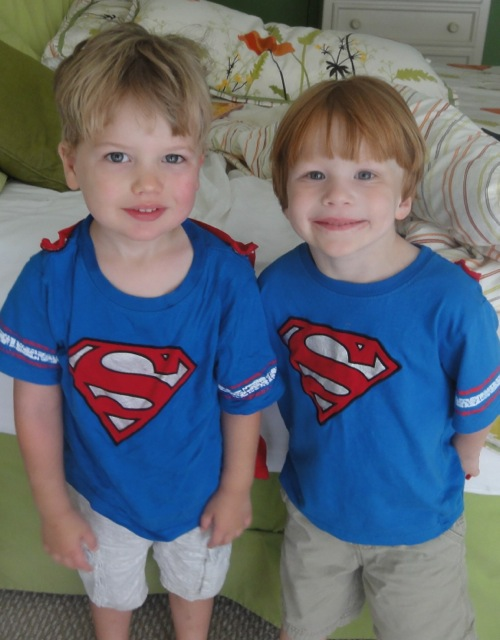 super hero cousins