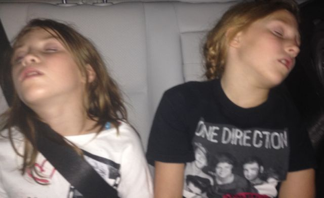 one direction girls sleeping