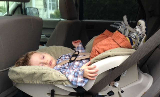 Thanksgiving trip - carseat troubles