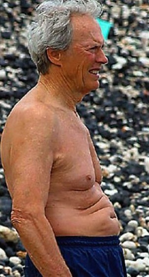 Clint Eastwood pregnant