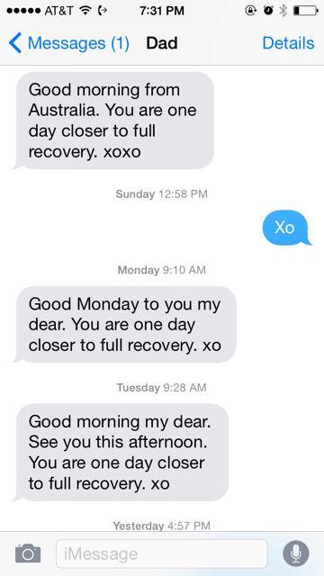 Dad's Texts