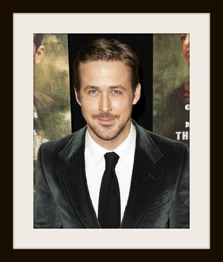 Ryan Gosling framed photo