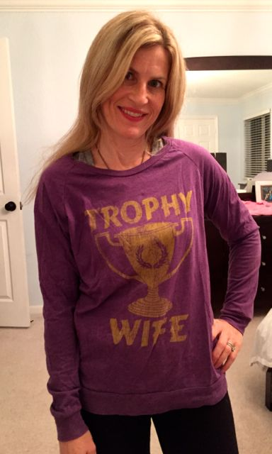 Trophy Wife T shirt
