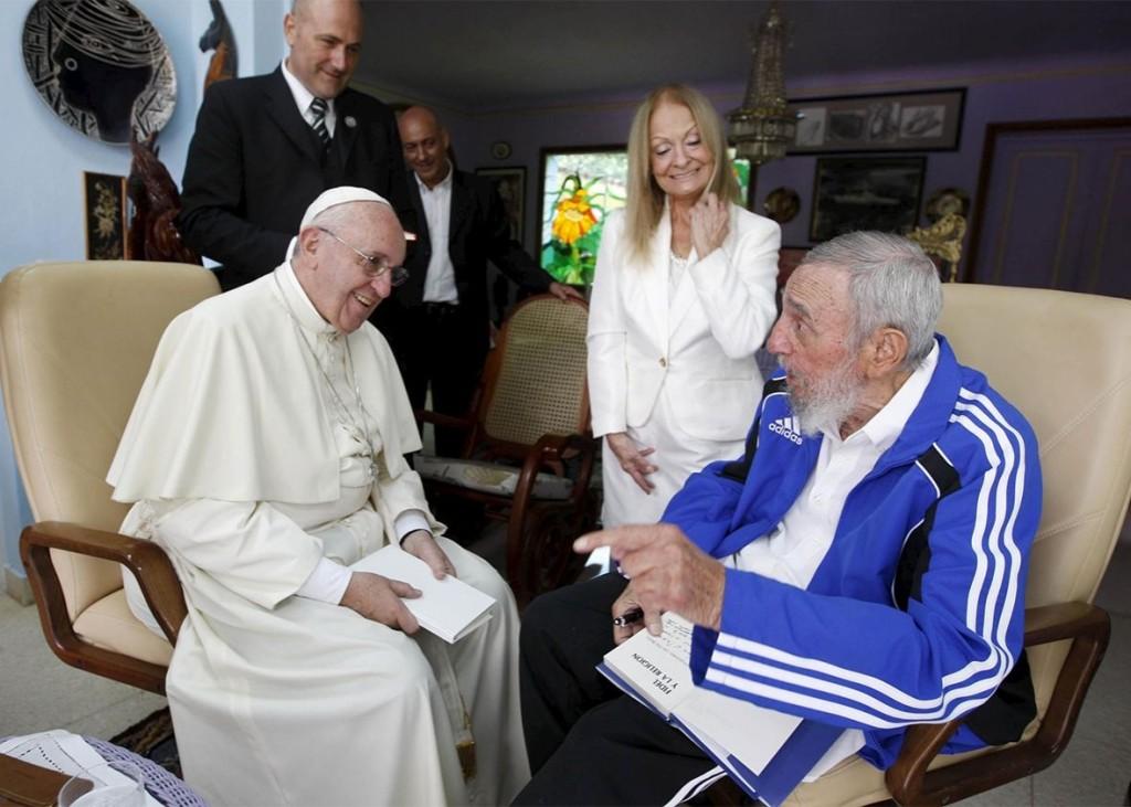 Pope: Castro Track suit