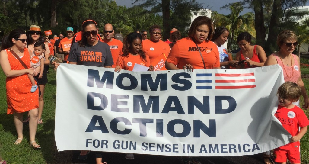 Moms Demand Action march