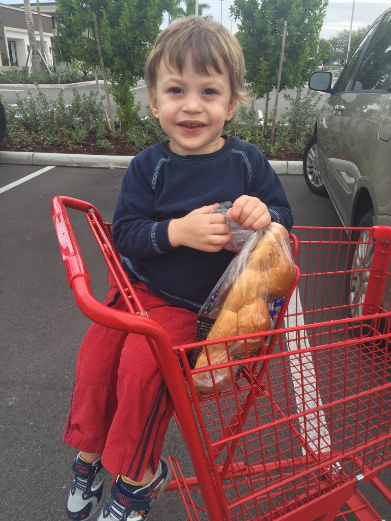 Cash with challah bread