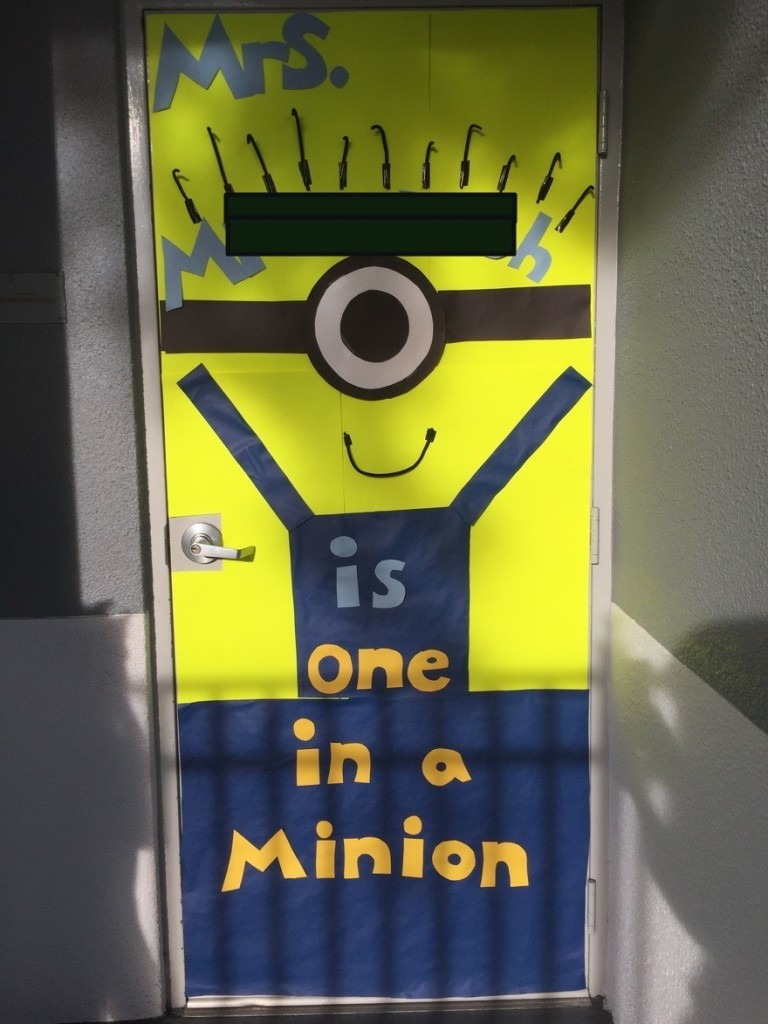 Minion Door edited