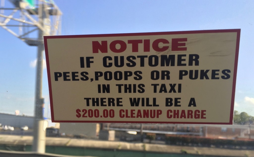 New Orleans poop sign